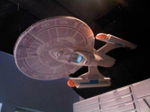 from the Star Trek exhibit at Kennedy Space Center