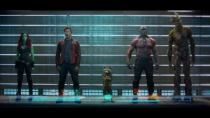 Headcount. Five. There are five Guardians of the Galaxy.