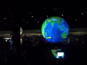 Second floor globe